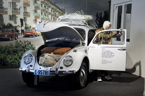"""The VW """"from We won the land"""" at Maihaugen, Lillehammer"""