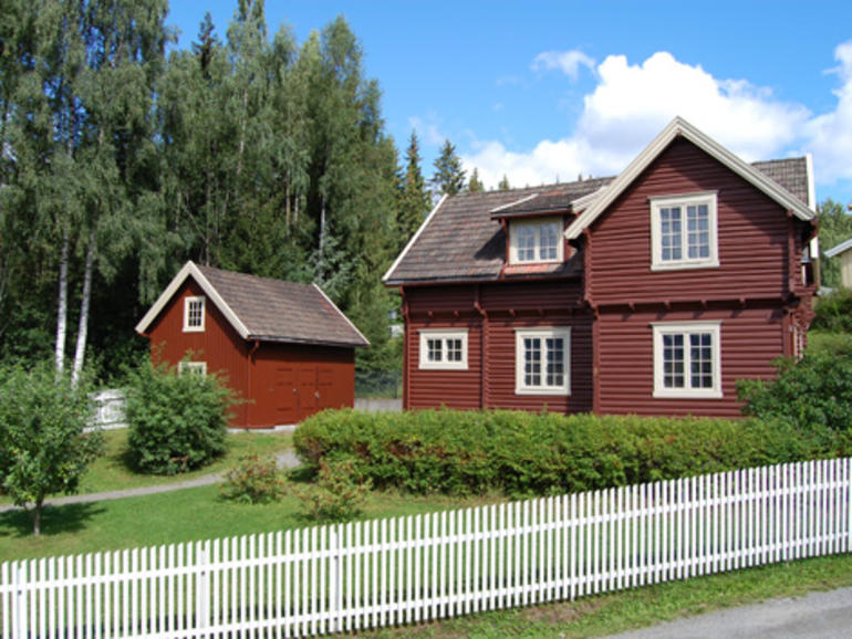 The 1920s house at Maihaugen, Lillehammer