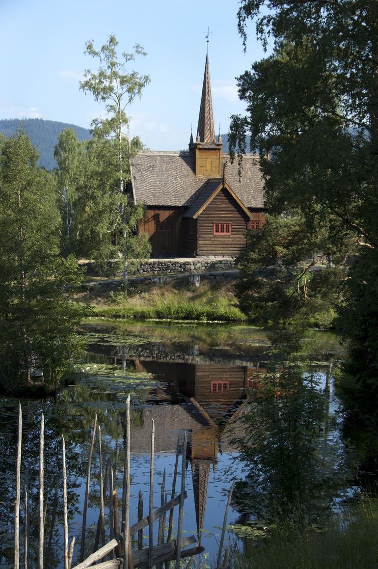 Garmo stavkirke, Maihaugen, Lillehammer. Foto: Camilla Damgård